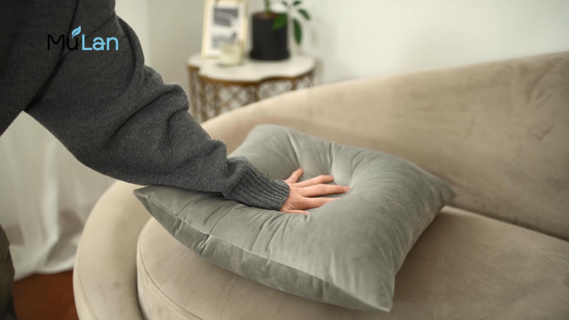 Оптовая продажа, мягкая квадратная бархатная наволочка, роскошная наволочка для дивана, спальни, автомобиля, 18x18 дюймов, 45x45 см, наволочка для подушки