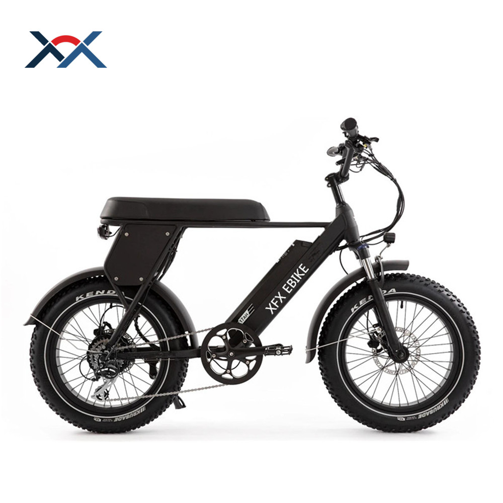 "48V 17Ah Samsung Battery 500W/750w Fashion 20"" Fat Tyre Electric Bike With Tektro Disc Brake"