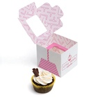 Cake Packaging With Window Paper Cup Pop Wedding Package Design Disposable Plain Single Kraft Cupcake Box