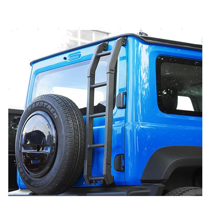 IN MAGAZZINO Scaletta IN Lega di Alluminio Posteriore per Suzuki 2019 Jimny JB64 JB74 JB64W JB74W