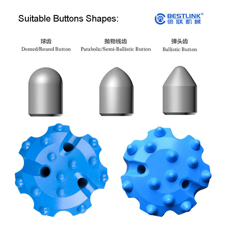 Bit grinding cup  Hexagonal diamond button bit grinding cup