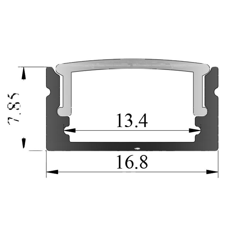 flat aluminum,1 Piece