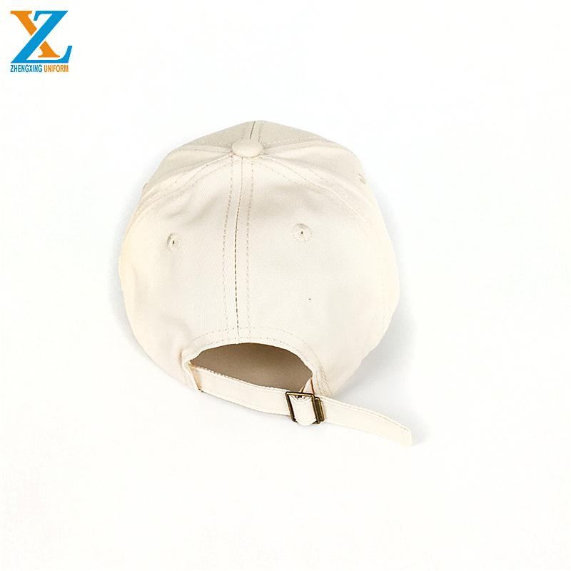 6 Panel Hoge Kwaliteit Gewassen Flex Gemonteerd Baseball Cap met 3D Borduurwerk