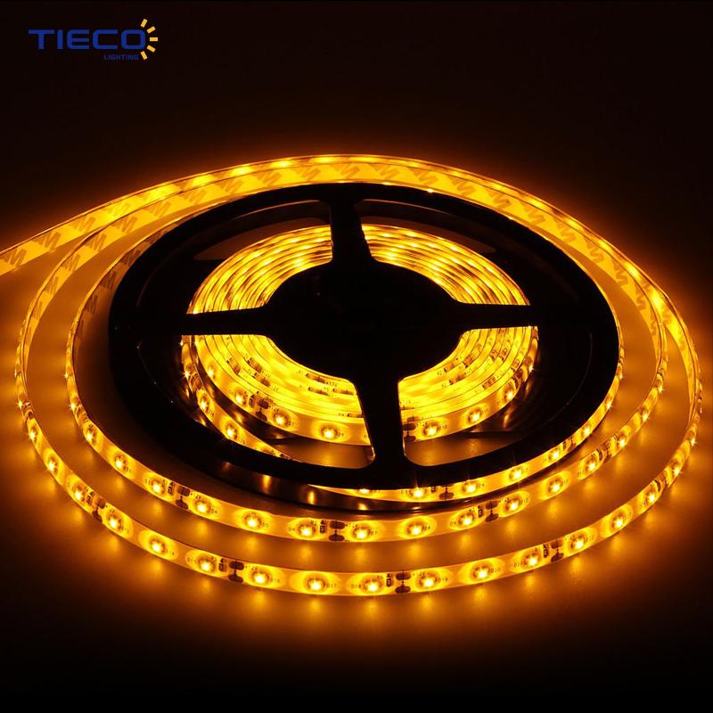 China Shenzhen Manufacturer 5M 5050 RGB IP20 LED Power Supply Strip Light