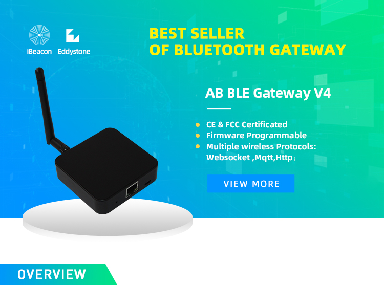 April Bluetooth BLE Gateway V4 BLE Bluetooth to WiFi Bridge Network Version