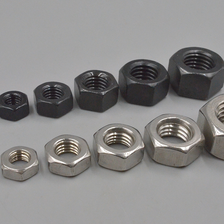 Low cost high quality M3-M72 custom stainless steel car finished hex nuts ring