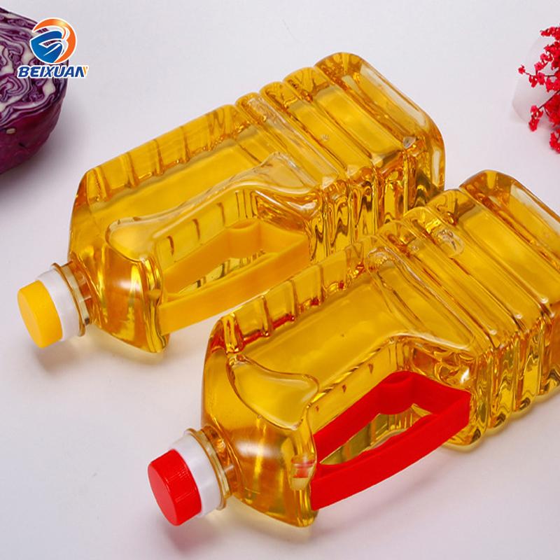 Di plastica tamburo di petrolio 3 litro 5 bottiglia da un litro di olio di arachidi trasparente bottiglie in PET bottiglie di plastica
