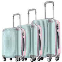 Hot Sale Urban Waterproof Telescopic Handle Carry On Luggage Travel Trolley Bag