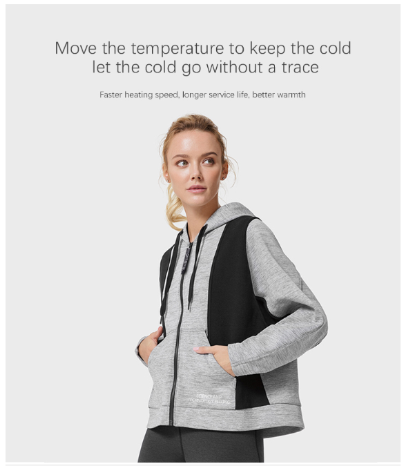 Made In China Superior Quality Qiyi smart heating jacket-hodded woman for sale air condition clothes