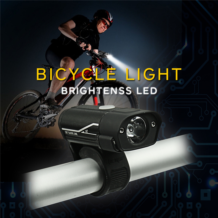 HOMFUL 850mAh Bicycle Light with USB and power bank
