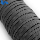 3mm, 4mm,5mm, 6mm, 8mm, 10mm,12mm, Black and white braided elastic band