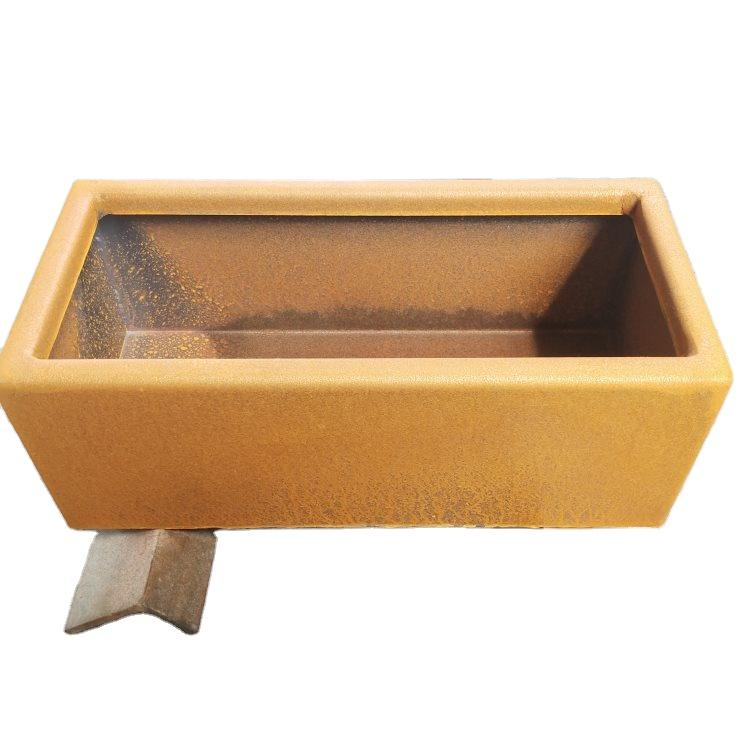 Customized Corten Steel Plant Boxes