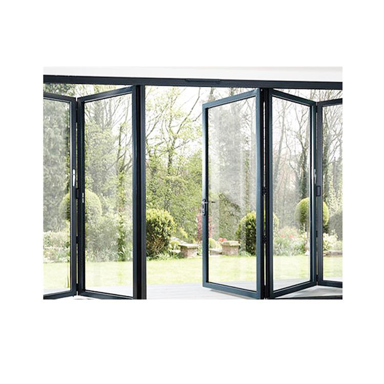 High quality Australian Standard AS2047 AS1288 Aluminum Bi-fold door