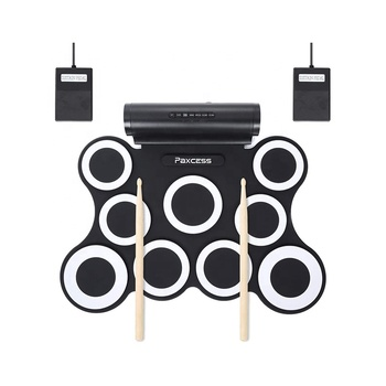 9 Pads Electronic Drum Set Built in Speaker and Battery Best Gift for Christmas Holiday Birthday