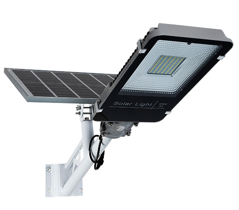 IP66 Outdoor Road Pole Lamp 30w/50w/70w/100w Solar Power LED Solar Street Light with Remote Control