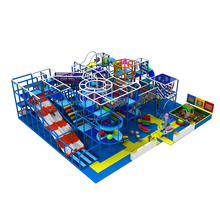 Wholesale Ocean Series Kids Soft Play Equipment, Kindergarten Indoor Playground with Trampoline