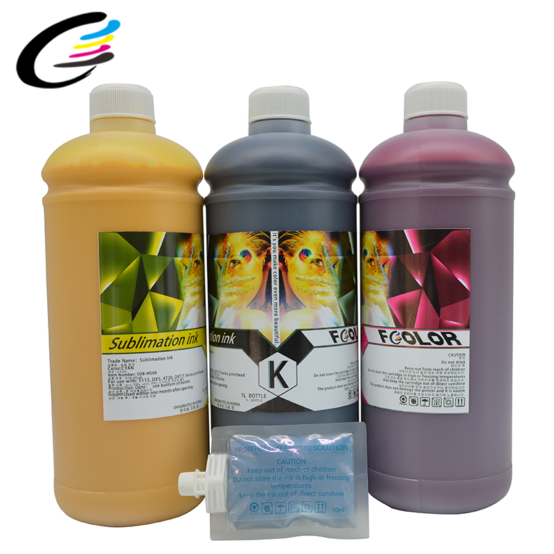 4 Color KCMY Korea Import Refill Ink 1000ml Inktec Pigment Ink For HP 970 971