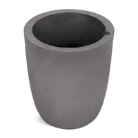 Cheap Price Graphite Crucible Pot with Spout , Lid and Lip