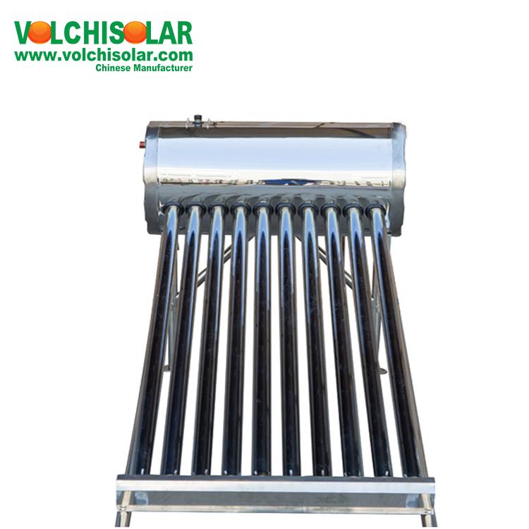 थोक सूर्य की ऊर्जा सौर हीटर हवा के लिए खाली ट्यूब सौर वॉटर हीटर घर बौछार