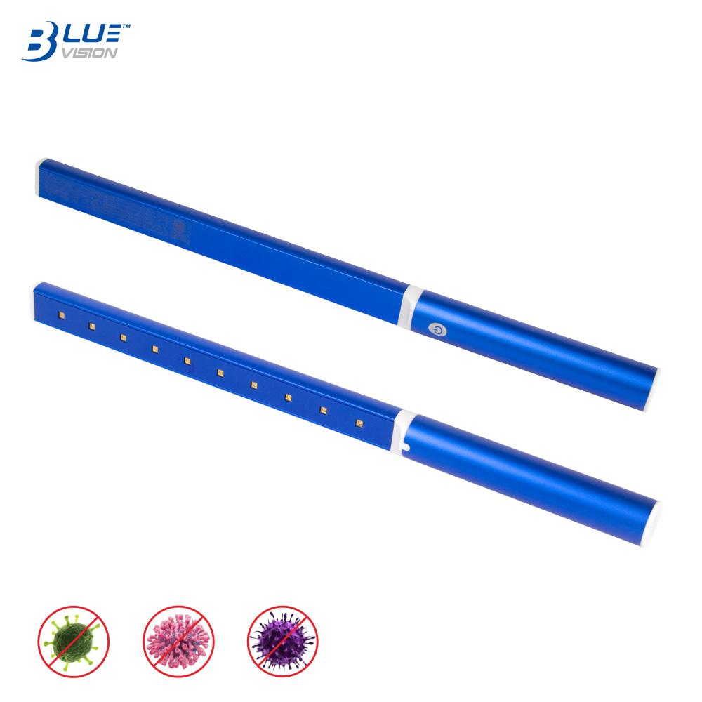 Germicidal rate 99.9% deep ultraviolet 270nm portable uvc light wand for disinfection
