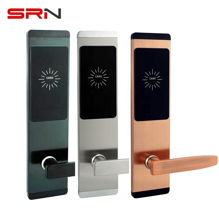 Système de commutation RFID, pour serrure de porte d'hôtel, porte-clés avec logiciel de gestion