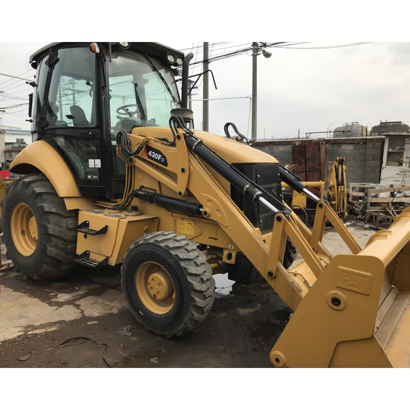Second hand backhoe loader CAT, cat 430F backhoe loader in good condition for sale