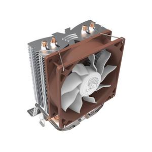 Easy To Install Copper Heatpipe PC Case Radiator