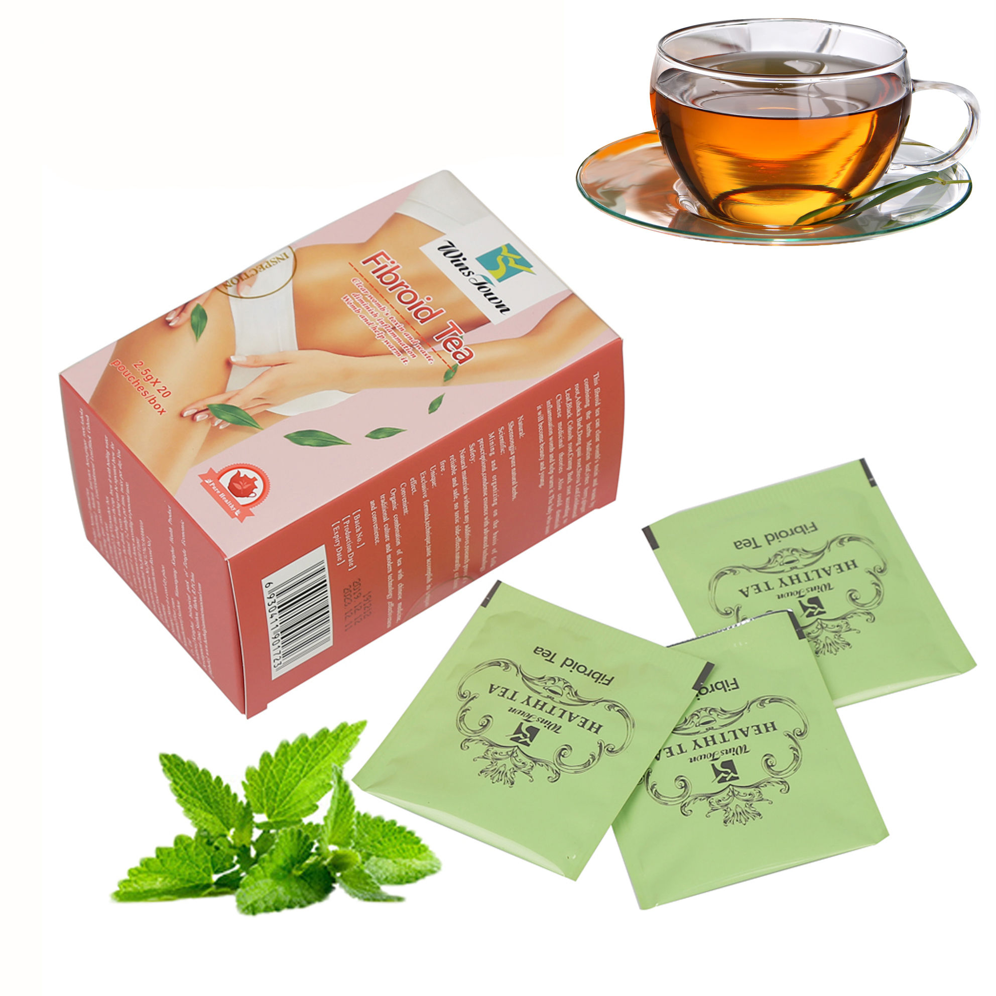 Fibroid Tea Warm Womb Detox Tea 100% Chinese <strong>Herbal</strong> Tea for Woman Healthy