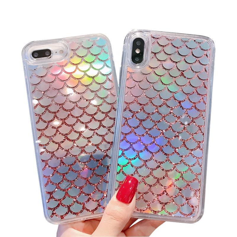 2020 cute design case New Luxury app Liquid Quicksand Mobile Phone Case for iPhone 11 pro XR XS Max