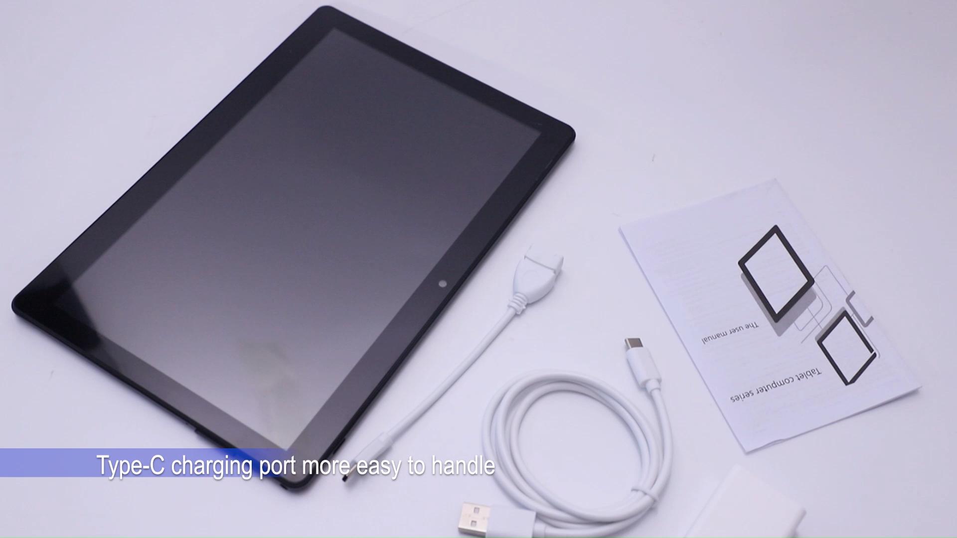 OEM Cập Nhật Trò Chơi Menu Phablet 10 Inch Android Tablet PC 4G Cuộc Gọi Điện Thoại Máy Tính Bảng