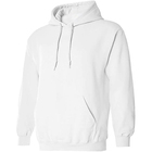 Fashion Custom Solid Color Blank Oversized Plain Pullover 100% Cotton Mens Sweatshirts Hoodies