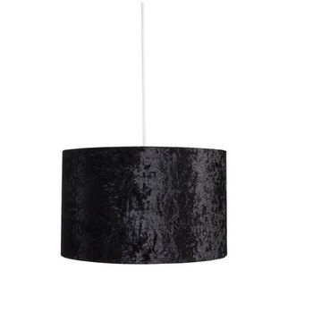 DIY Crushed Velvet Suede Easy Fit Non Electric Ceiling Pendant Light Shade Lampshade