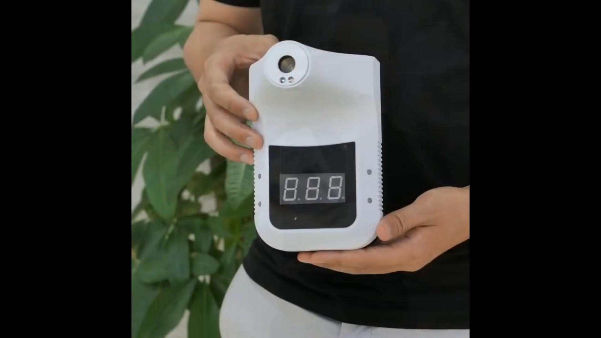 เครื่องควบคุมอุณหภูมิแบบดิจิตอลติดผนัง,เทอร์โมมิเตอร์K3แบบไม่ต้องสัมผัส