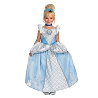 Wholesale fancy dress cosplay princess costume dress for girls
