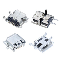 XYFW Fast Delivery B Type 5 Pin Female Micro Smd Connector / Micro 5pin Usb Port