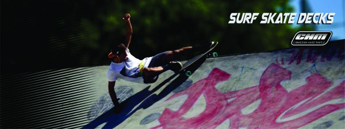 Gráfico de impressão digital personalizado 100% qualidade plataforma do longboard Canadian maple skate surf