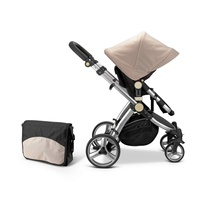 ready to ship luxury high baby stroller EN1888 children's carts baby umbrella
