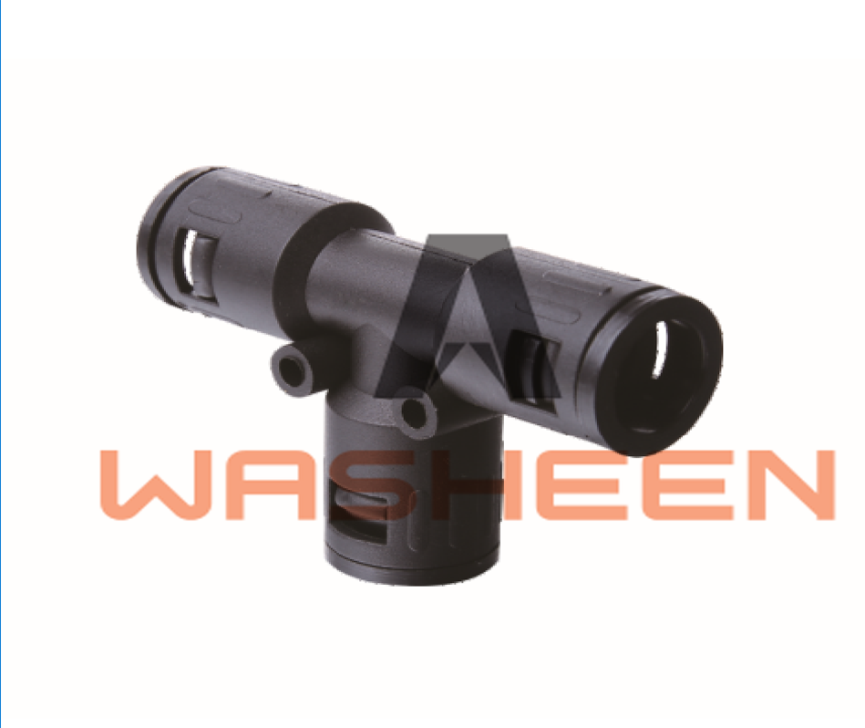 Hight Quality 3 ways T Shaped PA Nylon Connector For Flexible Conduit