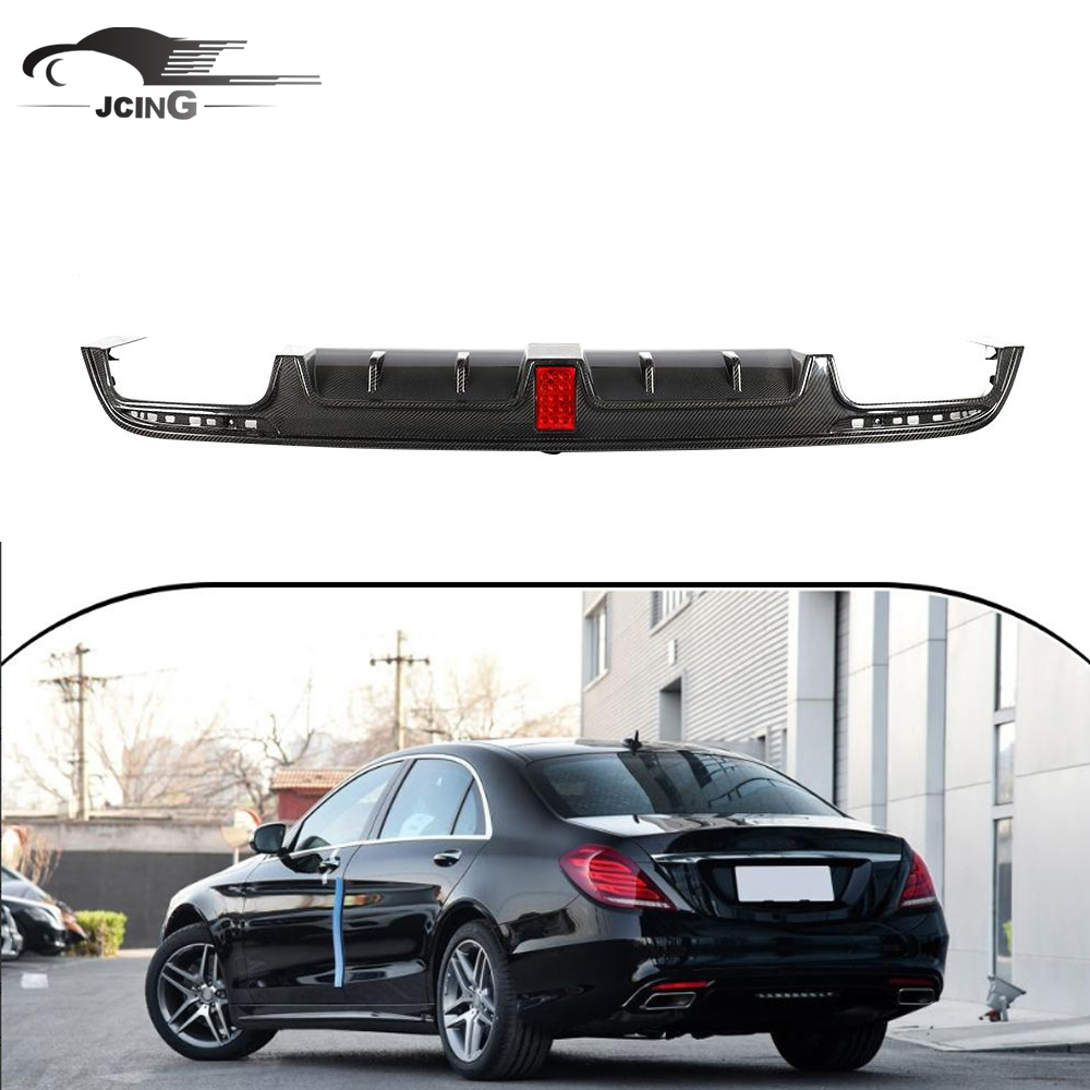 PAINTED For MERCEDES BENZ W222 S600 S65 REAR TRUNK SPOILER WING 14-19 ABS NEW
