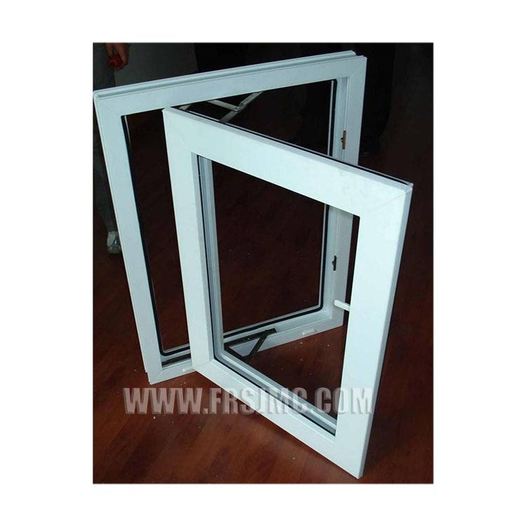 Chine fournisseur de upvc baie pvc fenêtres à guillotine double