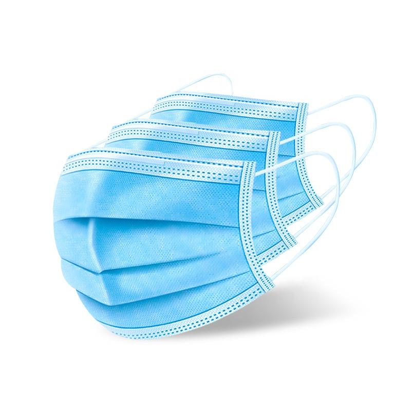 Disposable 3ply No-woven Medical masks Face Mask