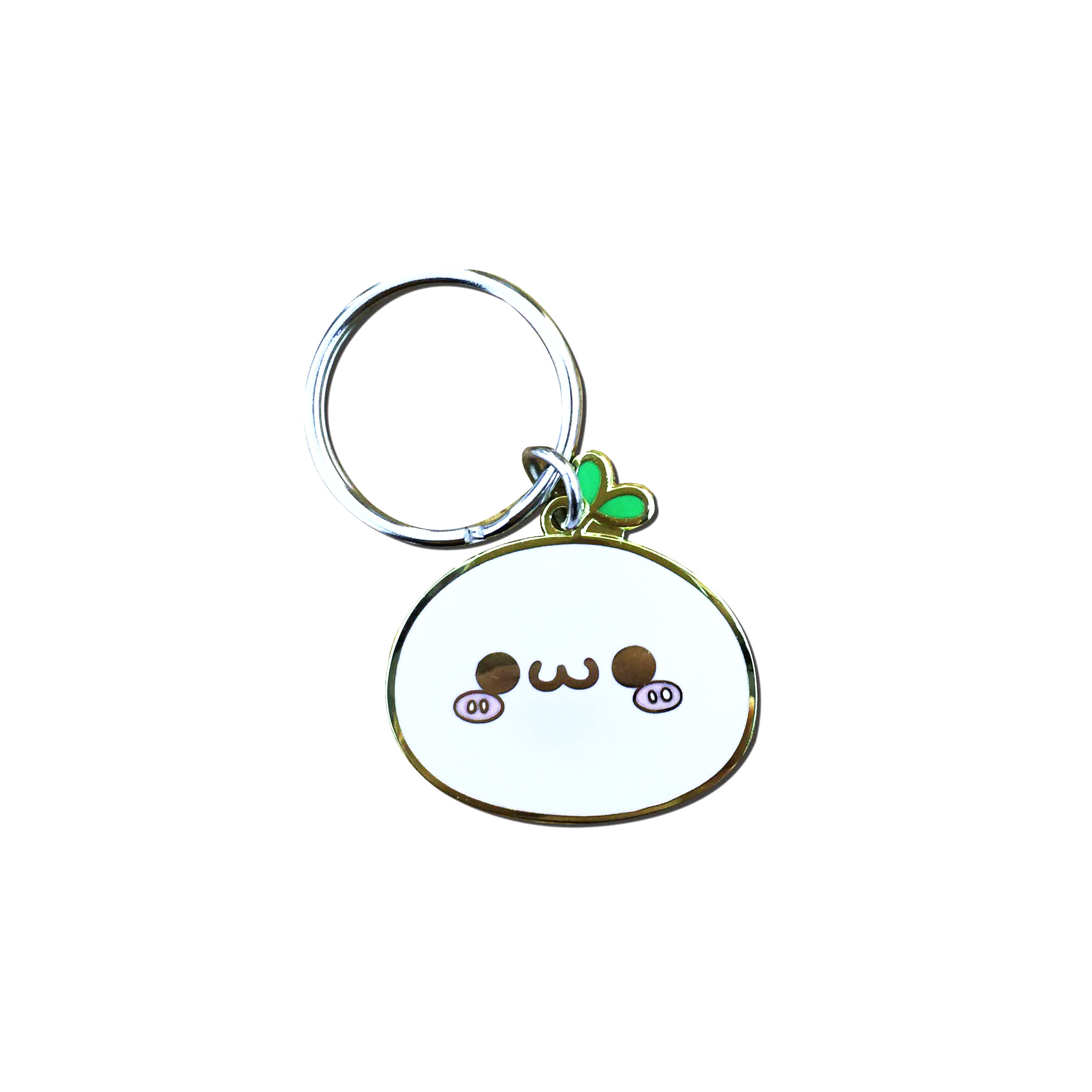 Free design high quality low price key chain cute gift for little girl metal key chains