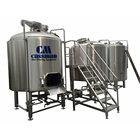 1000L microbrewery equipment Pilsener Lager ale