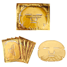 Amazon 2020 Hot Selling <span class=keywords><strong>Huidverzorging</strong></span> Custom Gezichtsmasker 24K Gold Gel Collageen Crystal Facial Maskers Sheet Patch