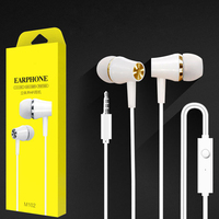 Cheap high quality factory wholesale 3.5mm Stereo Music headset Hifi Earphone super bass Wired In-Ear Headset Earphone