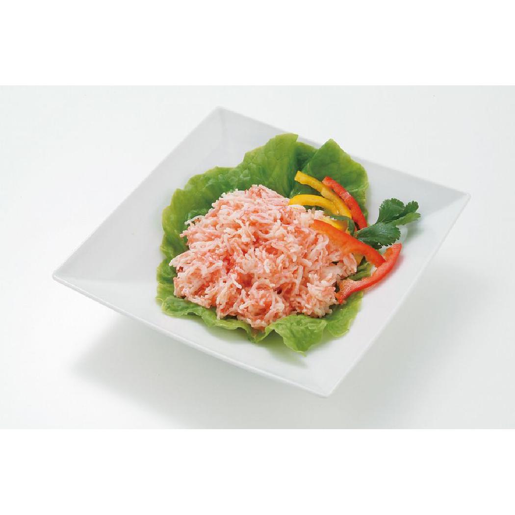 Seafood stick filling shredded Japanese seafood crab leg meat on sale