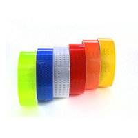 Glow In The Dark Self Adhesive Conspicuity Sticker Reflective Material Tape Warning Signs