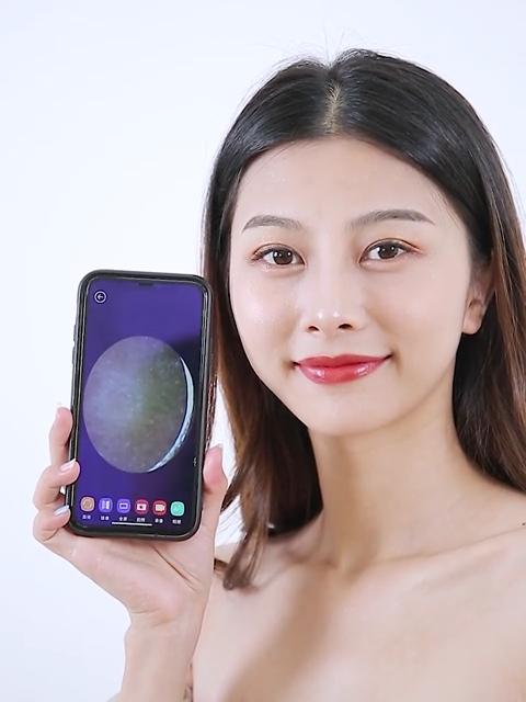 יופי מכשירי טלפון מקושר תצוגת WiFi חזותי יניקה נקבובית ואקום חטט Remover עם מצלמה