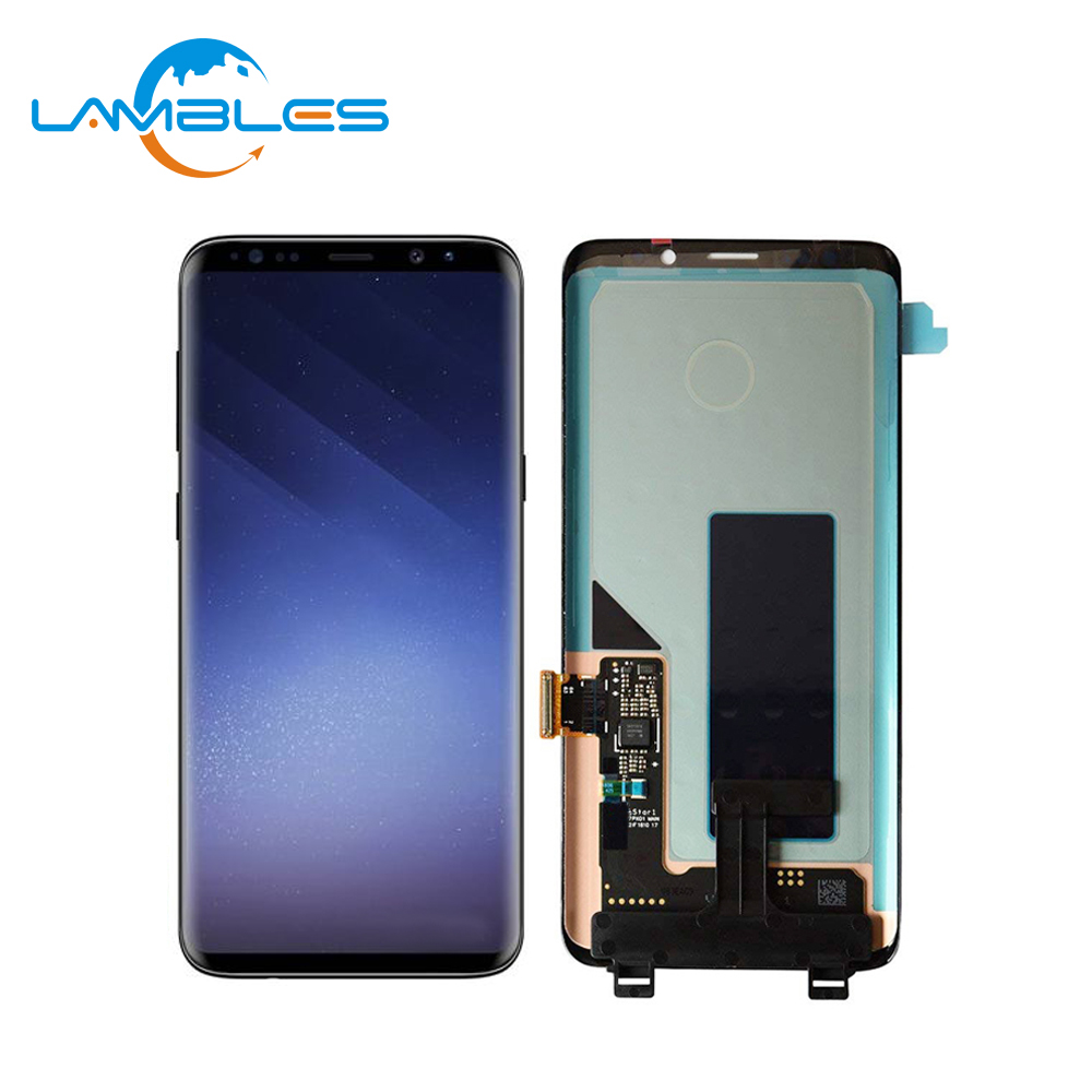 LCD touch screen digitizer assembly Per Samsung Galaxy S9 originale nuovo display