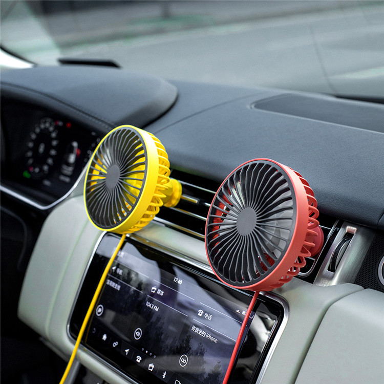 Factory Price Portable DC 5V Car Cooler Fans Universal Electric 5w Mini Usb Car Cooling Fan
